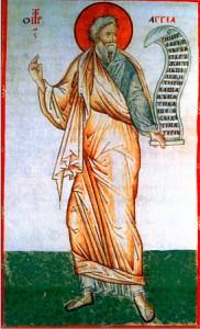 Святой пророк Аггей