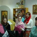 Участники молодежного клуба «Космос» в Светлый Вторник посетили психо-неврологический интернат №3 в Петергофе с праздничной Литургией и Пасхальным поздравлением