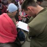 Сбор подписей против абортов и раздача Евангелия в Великую Субботу в нашем храме