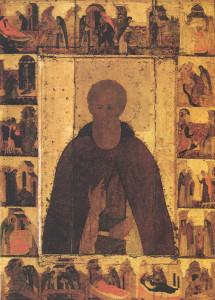 Преподобный Сергий Радонежский, икона