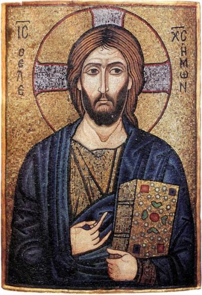 Икона Господа и Спаса нашего Иисуса Христа. Византия