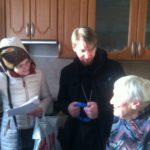 Радость Рождества. Участники клуба Космос посетили тех, кто не смог прийти в храм.