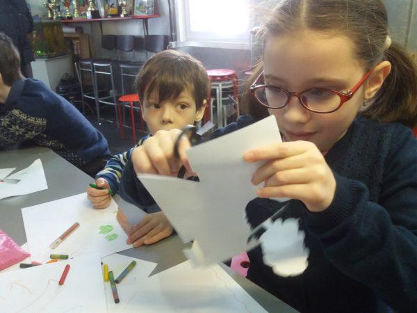 Творческое занятие в воскресной школе