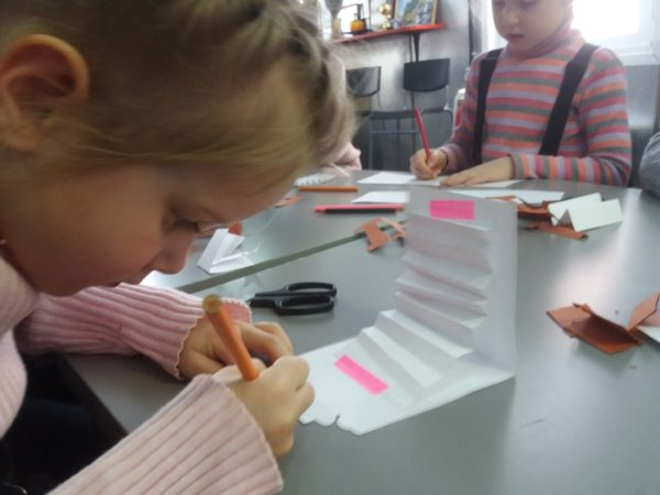 Занятия в воскресной школе в день памяти трудов прп. Иоанна Лествичника