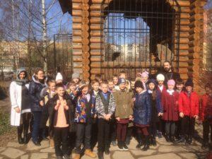Посещение нашего храма учениками из школ нашего района