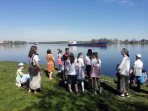 Детская воскресная школа нашего храма посетила места св. Александра Невского