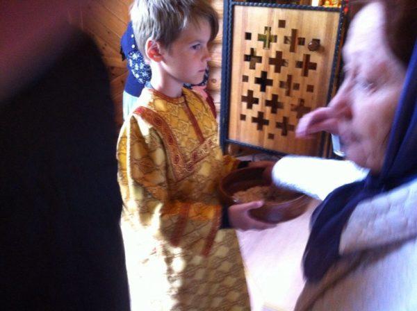 Служба свт. Блаженной Ксении в нашем храме