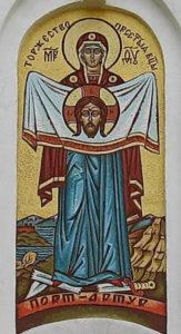 12 августа 2018г. совершен молебен на всякое благое дело на месте строительства морского храма в честь Порт-Артурской иконы Божией Матери.