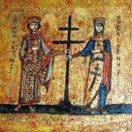 27 сентября Воздви́жение Честно́го и Животворящего Креста Господня.