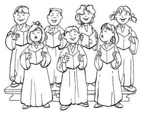 Приглашаем детей на приходской детский хор нашего храма!