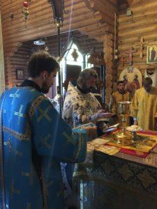 Воскресная Литургия в храме - 2 сентября, неделя 14-я по Пятидесятнице