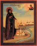 Обретение мощей преподобного Феодосия Тотемского, игумена (1796)