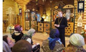 10 ноября Воскресная школа с участием протоиерея Алексея Володина