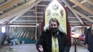 Молебеннаместестроительстванового храма в честьПорт-АртурскойиконыБожиейМатери